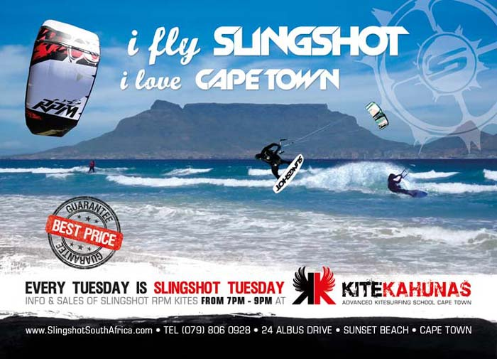 Slingshot Kite Shop in Cape Town